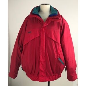 Vintage Columbia Mens Whirlibird Jacket XL 3 In 1